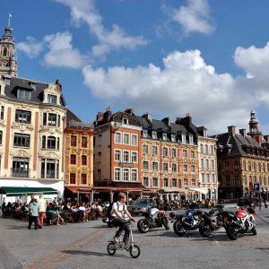 Guide Conférencier Lille, Visite Guidée Lille, Lille à Vélo