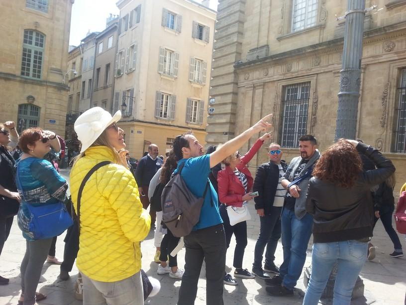 guide conférencier aix en provence, guides conférenciers france