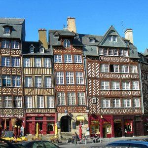 Rennes à Vélo, Visite de Rennes